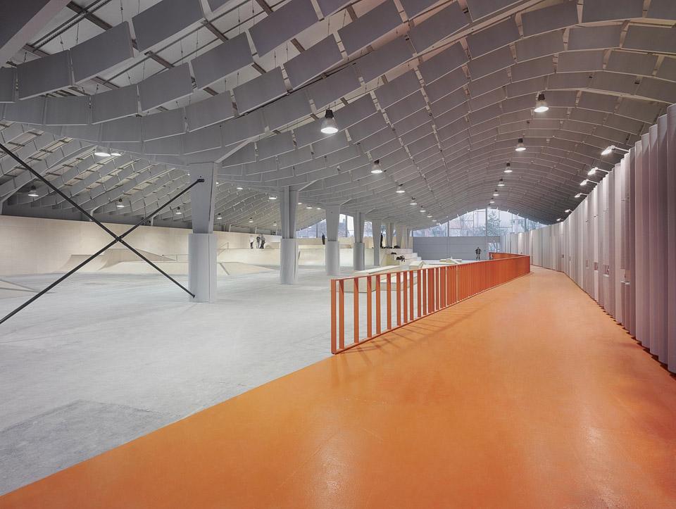 skate park Calais by BANG architecture
